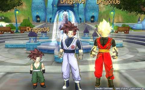 Dragon Ball Online - Èvolution des personnages
