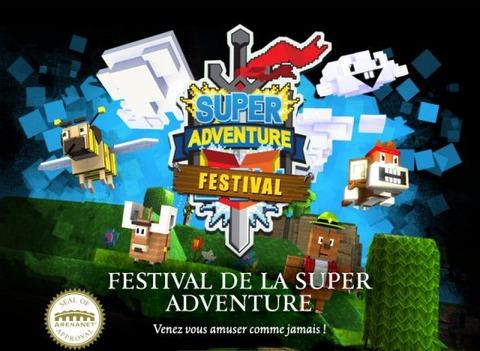 Guild Wars 2 - Retour de la Super Adventure Box sur Guild Wars 2
