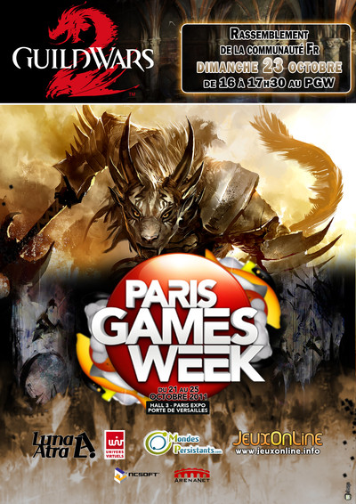 Evènement communautaire au Paris Games Week