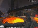 Portail de lave du fort du feu