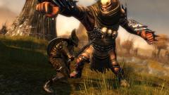 Le guerrier en action - Gw055