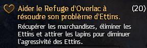 Aider le Refuge d'Overlac à résoudre son problème d'Ettins