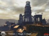 Tour de l'académie de magie