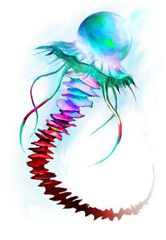 Rainbow Jellyfish - Hall of Monuments