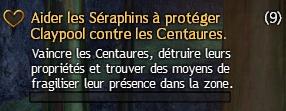Aider les Séraphins à protéger Claypool contre les Centaures