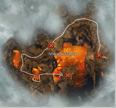 Fractale Volcanique