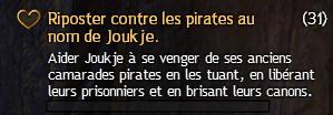 Riposter contre les pirates au nom de Joukje