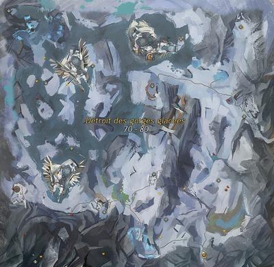 Détroit des gorges glacées
