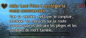 Aider Lexi Price à protéger la route commerciale