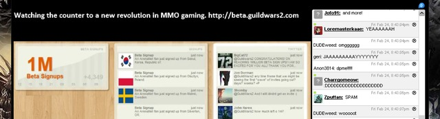 Beta Guild Wars 2 : le million !