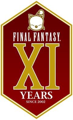 FFXI logo du 11eme anniversaire