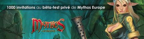 Mythos - 1000 invitations à rejoindre le bêta-test francophone de Mythos