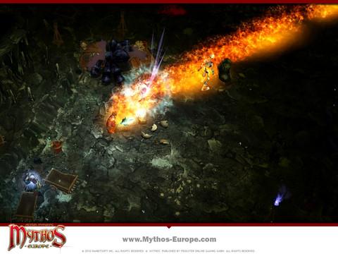 Mythos - Exclusivité : Le pyromancier de Mythos, les compétences du Charbriseur