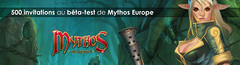 500 invitations au bêta-test privé de Mythos