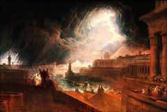 Les plaies d'Egypte de John Martin