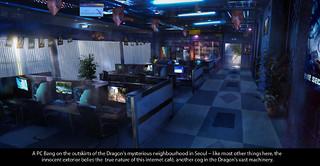 Un Cybercafé à Séoul