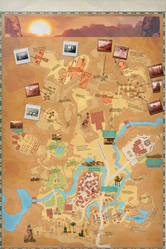 Carte du Désert Brûlant