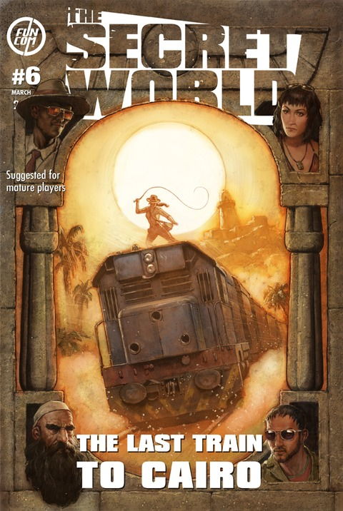Issue 6 - The last train to Cairo