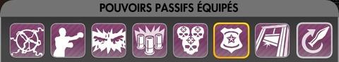 Pisto-Pompe : Pouvoirs passifs