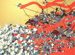 La guerre de Genpei par Hideo Takeda