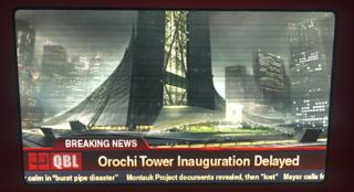 Inauguration de la Tour Orochi