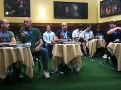 L'intérieur du stand de Funcom lors de la GamesCom