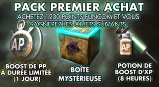 Pack Premier Achat