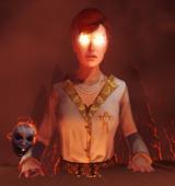 Une Lilith géante dans le rêve de John