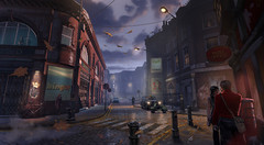 Rue londonienne