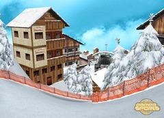 Nouvelle piste de ski et ville francophone