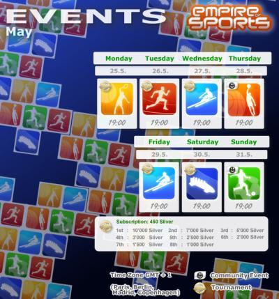 Empire of Sports - Programme de la semaine 22