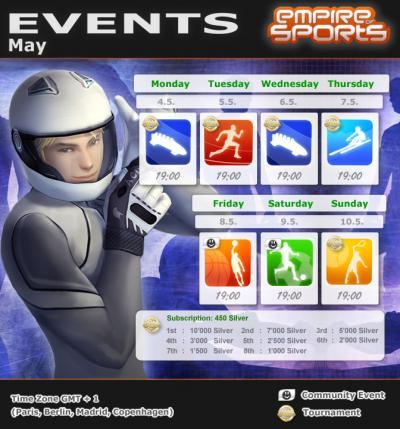 Empire of Sports - Programme de la semaine 19