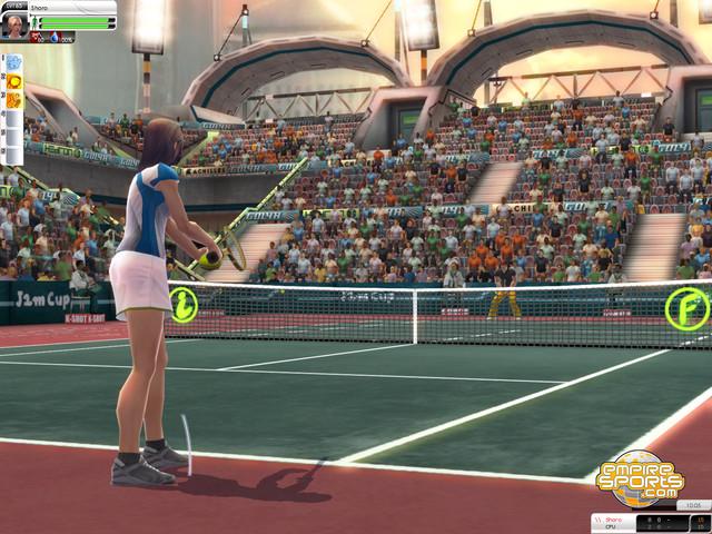 Tennis - Au service