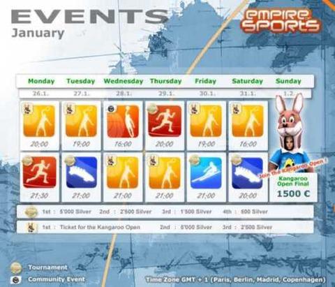 Empire of Sports - Gagnez votre place pour le Kangaroo Open!