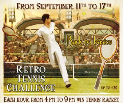 Retro Tennis Challenge