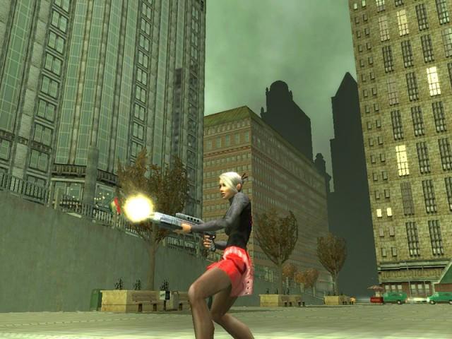 Madame, les armes à feu c'est dangereux!