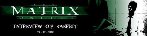Interview exclusive de Rarebit