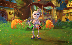 Animation « Super Spooktacular » dans FreeRealms