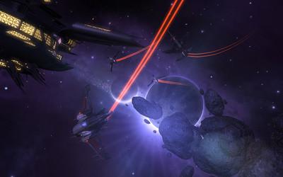 Une escouade Nova Wolves attaquant une station Octavienne