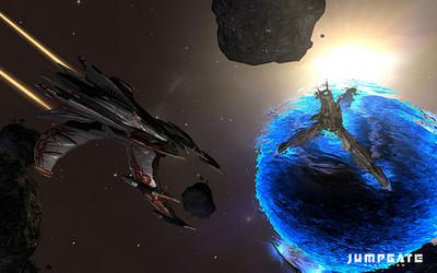 Vue des vaisseaux Infernals dans l'espace