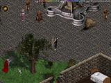 Un archer se bat dans Lighthaven