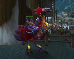 Faucon-péregrin rouge rapide