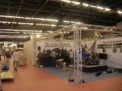 FJV 2008 : préparatifs du stand Blood Bowl et Trackmania