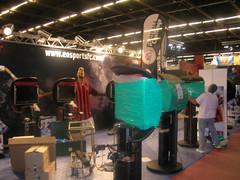 FJV 2008 : préparatifs du stand EA Sport