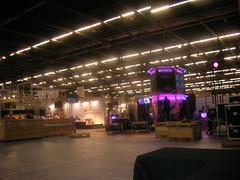 FJV 2008 : préparatifs des stands gPotato et Entropia Universe