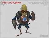 Conceptart de Auroria - Protostar Miner