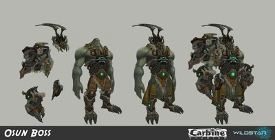 Image article Polycount sur les graphismes - WildStar PolyC Johnson Truong Osun Boss e1370299132680