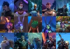 Personnalisation de votre Avatar.