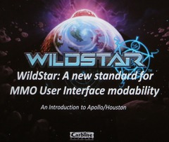 Présentation : A new standard for MMO User Interface for WildStar