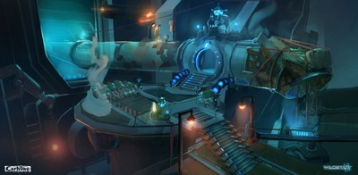Image article Polycount sur les graphismes - WildStar Redenvironment e1370299202308
